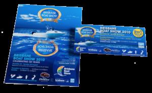 Brisbane Boat Show Flyer
