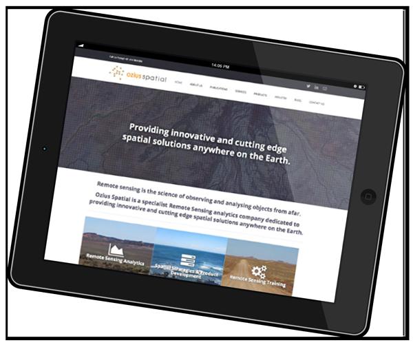 Ozius Spatial Website